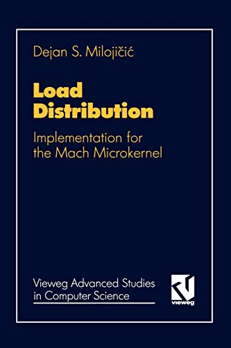9783528054243: Load Distribution: Implementation for the Mach Microkernel (Vieweg Advanced Studies in Computer Science) (German Edition)
