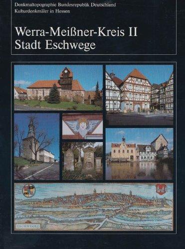 9783528062415: Werra-Meissner-Kreis II Stadt Eschwege