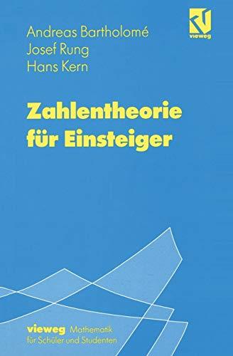 9783528066802: Zahlentheorie für Einsteiger (German Edition)