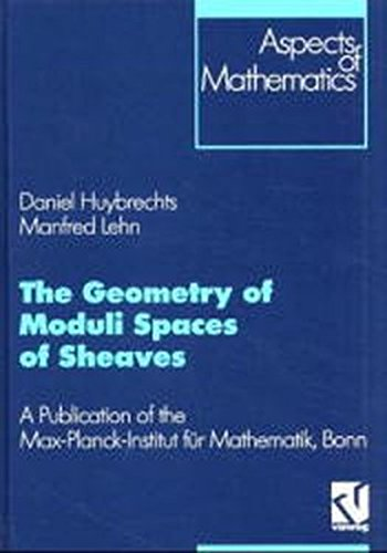 9783528069070: The Geometry of Moduli Spaces of Sheaves: A Publication of the Max-Planck-Institut für Mathematik, Bonn (Aspects of Mathematics) (German Edition)