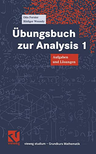 9783528072612: Vieweg Studium, Nr.61, Übungsbuch zur Analysis 1;