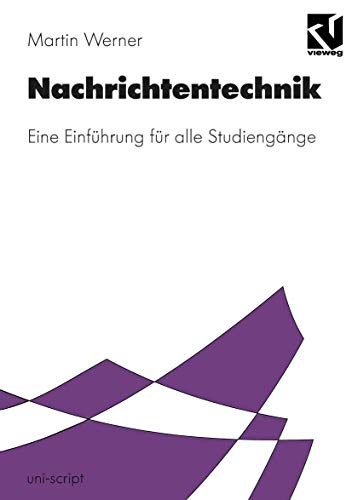 9783528074333: Nachrichtentechnik. Eine Einführung für alle Studiengänge