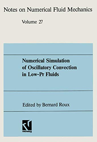 9783528076283: Numerical Simulation of Oscillatory Convection in Low-Pr Fluids: A GAMM Workshop (Notes on Numerical Fluid Mechanics and Multidisciplinary Design)