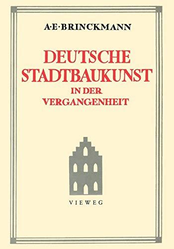 9783528087166: Deutsche Stadtbaukunst in Der Vergangenheit