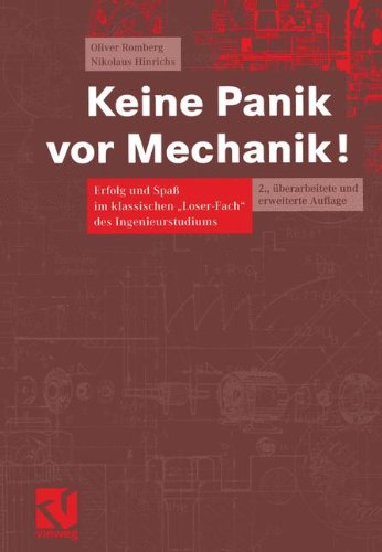 9783528131326: Keine Panik vor Mechanik!. Erfolg und Spaß im klassischen Loser-Fach des Ingenieurstudiums (Livre en allemand)