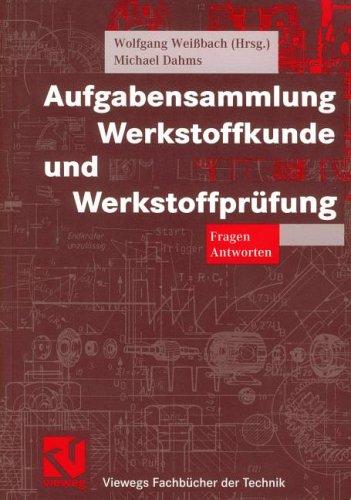 9783528140380: Aufgabensammlung Werkstoffkunde und Werkstoffprüfung