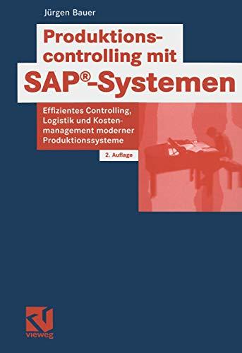 9783528157739: Produktionscontrolling mit SAP-Systemen
