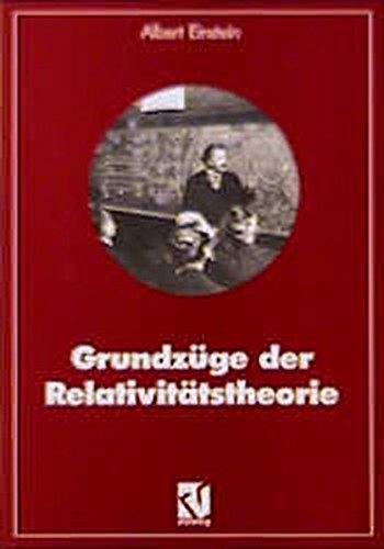 9783528160586: Grundzüge der Relativitätstheorie