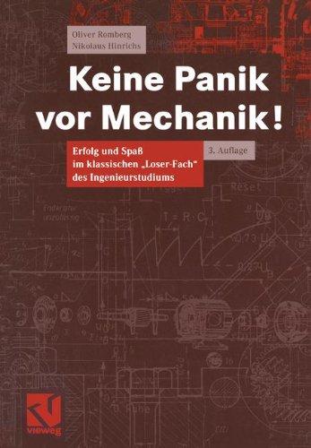 9783528231323: Keine Panik vor Mechanik! Erfolg und Spaß im klassischen Loser-Fach des Ingenieurstudiums