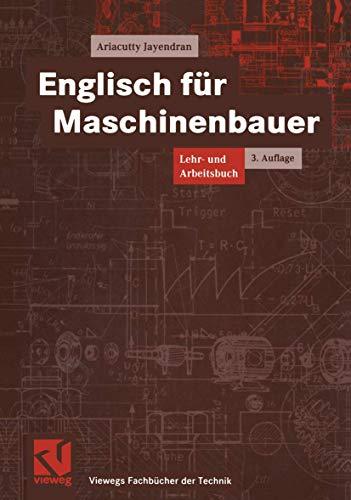 9783528249427: Englisch für Maschinenbauer. Lehr- und Arbeitsbuch.