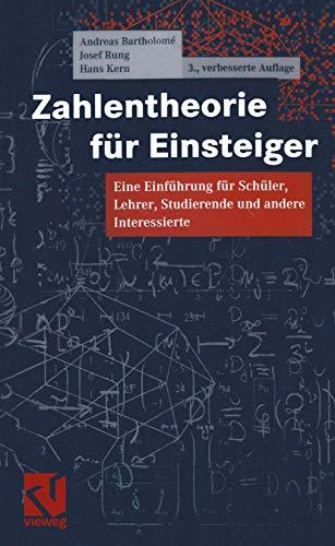 9783528266806: Zahlentheorie für Einsteiger. Eine Einführung für Schüler, Lehrer, Studierende und andere Interessierte