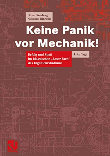 9783528331320: Keine Panik vor Mechanik!