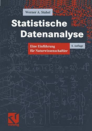 9783528366537: Statistische Datenanalyse. Eine Einführung für Naturwissenschaftler