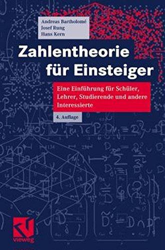 9783528366803: Zahlentheorie für Einsteiger.