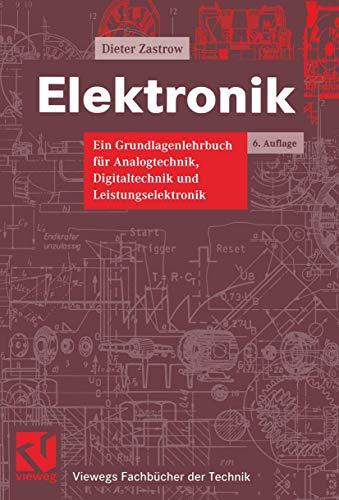 9783528542108: Elektronik.