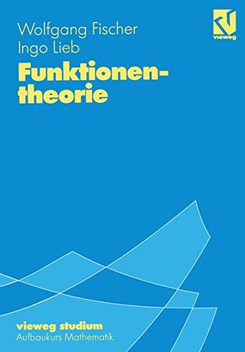 9783528672478: Vieweg Studium, Nr.47, Funktionentheorie