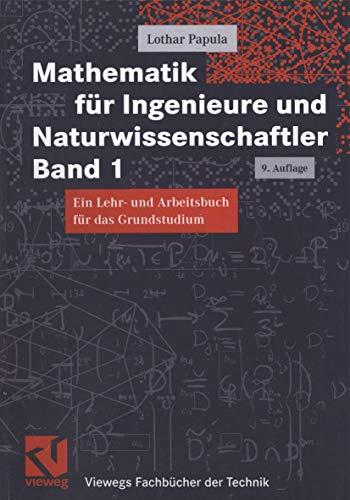 9783528842369: Mathematik für Ingenieure und Naturwissenschaftler, Bd.1