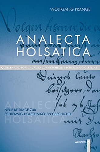 9783529022166: Analecta Holsatica