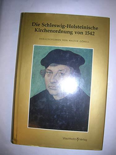 9783529028328: Die Schleswig-Holsteinische Kirchenordnung von 1542