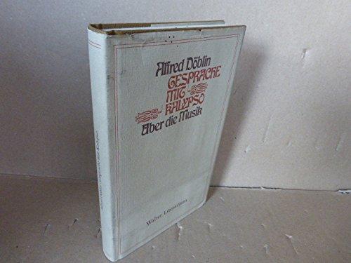9783530166750: Gespräche mit Kalypso: Über die Musik (Walter Literarium) (German Edition)