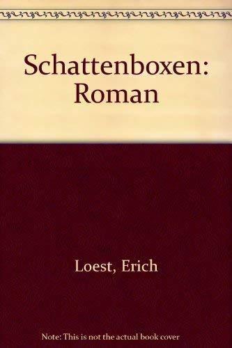 9783530533026: Schattenboxen. Roman