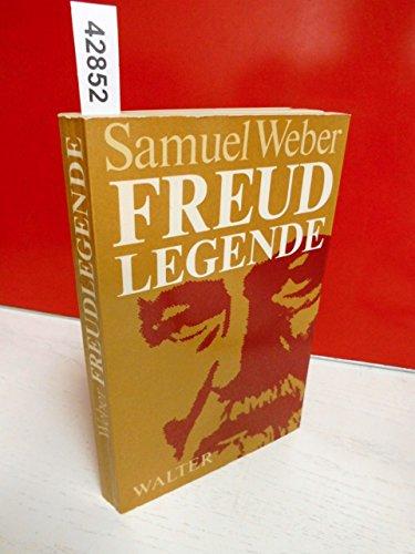 9783530925456: Freud-Legende: Drei Studien zum psychoanalytischen Denken