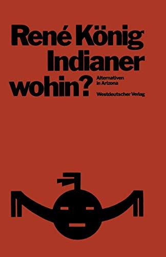 Indianer wohin? Alternativen in Arizona: Konig, Rene