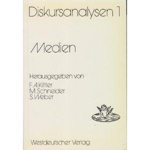 Medien (Diskursanalysen) (German Edition): n/a