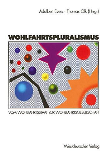 9783531127415: Wohlfahrtspluralismus
