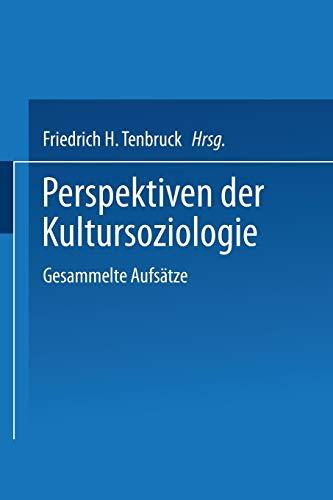9783531127736: Perspektiven der Kultursoziologie: Gesammelte Aufsätze