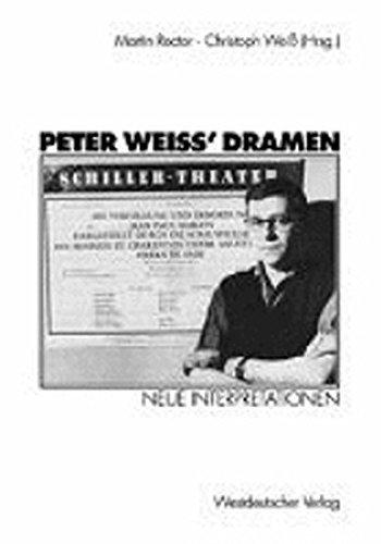 9783531128726: Peter Weiss Dramen