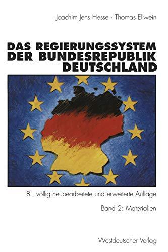 9783531131245: Das Regierungssystem der Bundesrepublik Deutschland: Band 2: Materialien (German Edition)