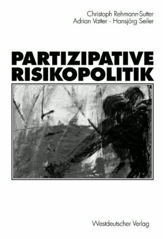 9783531132228: Partizipative Risikopolitik