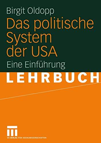 9783531138749: Das politische System der USA: Eine Einführung