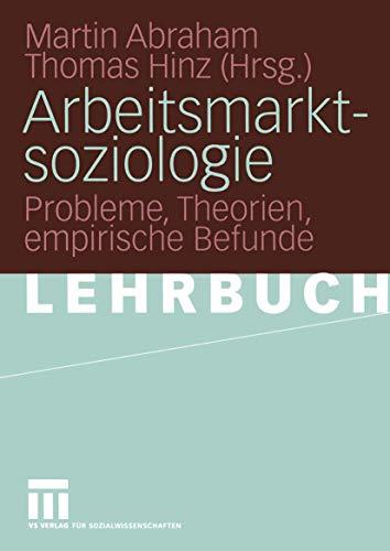 Arbeitsmarktsoziologie.: Luhmann, Niklas