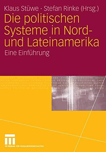 9783531142524: Die politischen Systeme in Nord- und Lateinamerika: Eine Einführung (German Edition)