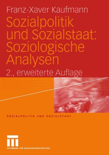 9783531143477: Sozialpolitik und Sozialstaat. Soziologische Analysen
