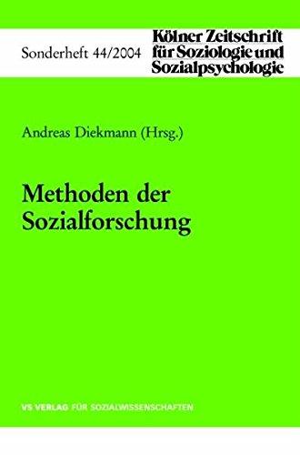 9783531143620: Methoden der Sozialforschung (Kölner Zeitschrift für Soziologie und Sozialpsychologie Sonderhefte) (German Edition)