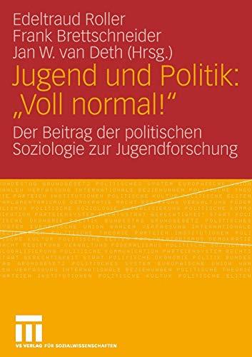 9783531143835: Jugend und Politik: