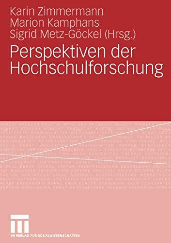 Perspektiven der Hochschulforschung: Marion Kamphans