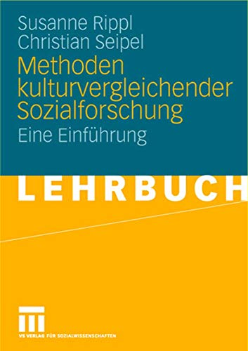 9783531149653: Methoden kulturvergleichender Sozialforschung: Eine Einführung