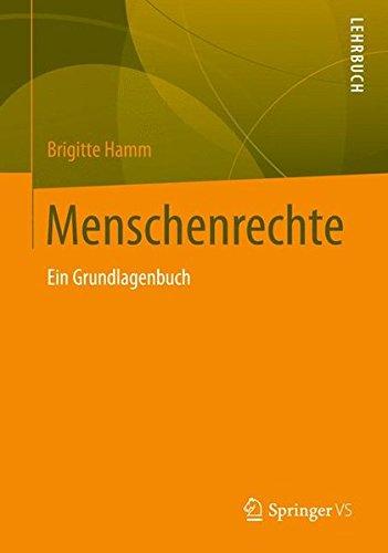 9783531149691: Menschenrechte: Ein Grundlagenbuch