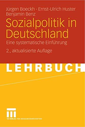 9783531152486: Sozialpolitik in Deutschland