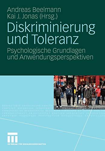 9783531157320: Diskriminierung und Toleranz: Psychologische Grundlagen und Anwendungsperspektiven (German Edition)