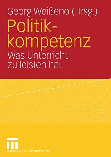 Politikkompetenz: Georg Weißeno