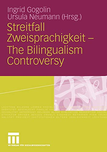 9783531158860: Streitfall Zweisprachigkeit - The Bilingualism Controversy (German Edition)