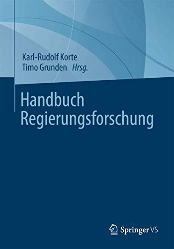 9783531160597: Handbuch Regierungsforschung