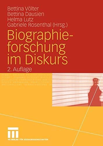 9783531161778: Biographieforschung im Diskurs