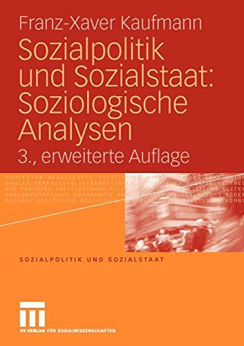9783531164779: Sozialpolitik Und Sozialstaat: Soziologische Analysen