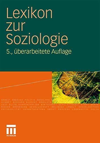 Lexikon zur Soziologie - Fuchs-Heinritz, Werner